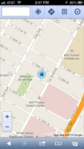 google maps app nyc