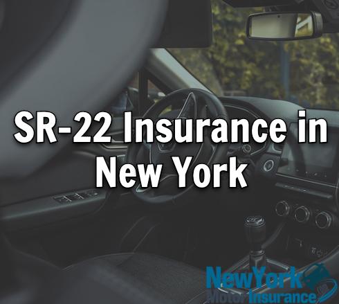 sr-22 insurance in new york