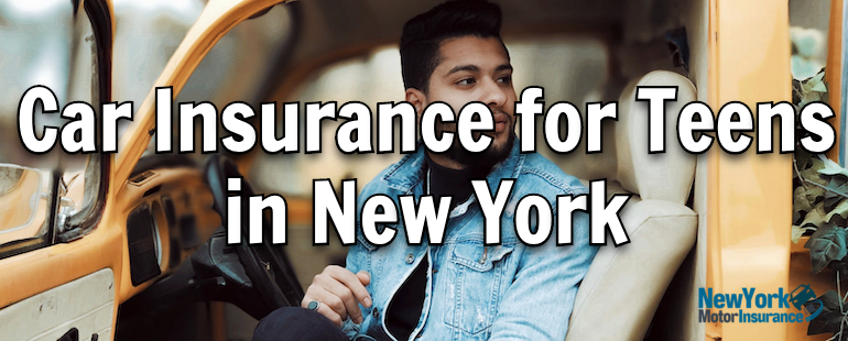 car insurance for teens in new york