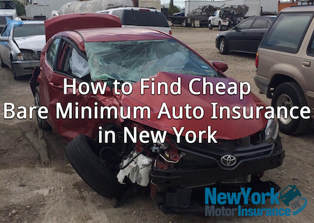 bare minimum auto insurance