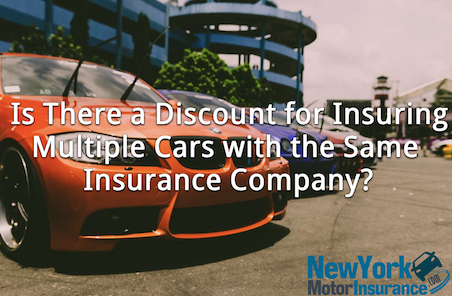 Is There a Discount for Insuring Multiple Cars with the Same Company?