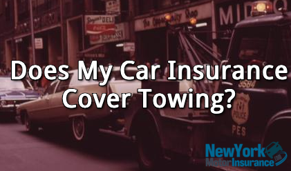 car insurance covers towing