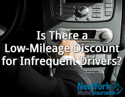 is there a low mileage discount for infrequent drivers