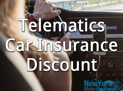 telematics car insurance discount