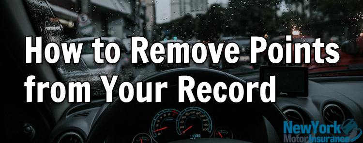 How to Remove Points from Your Record in New York State