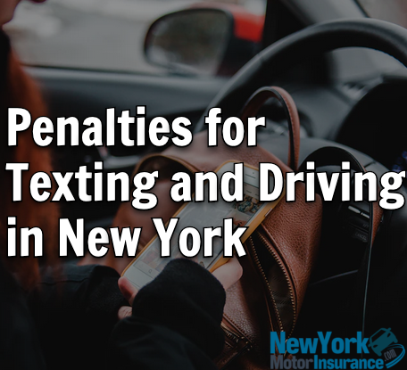 Penalties for Texting and Driving in New York