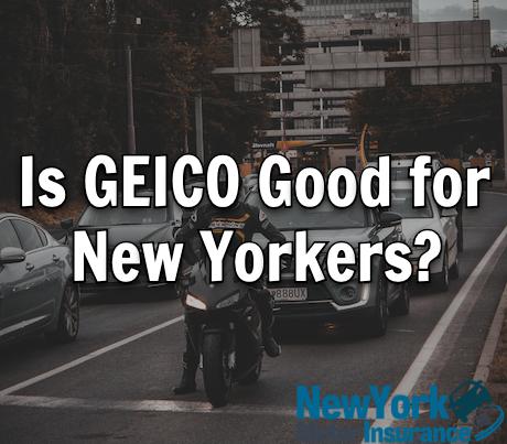 GEICO car insurance New York
