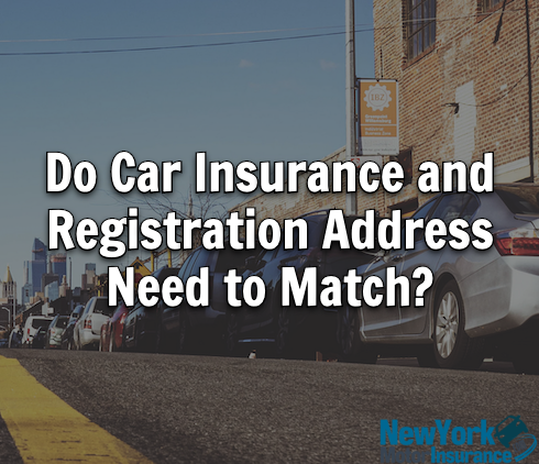 Do Car Insurance and Registration Address Need to Match?