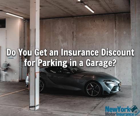 insurance discount for garage parking