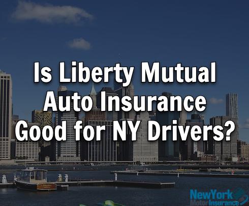liberty mutual car insurance ny