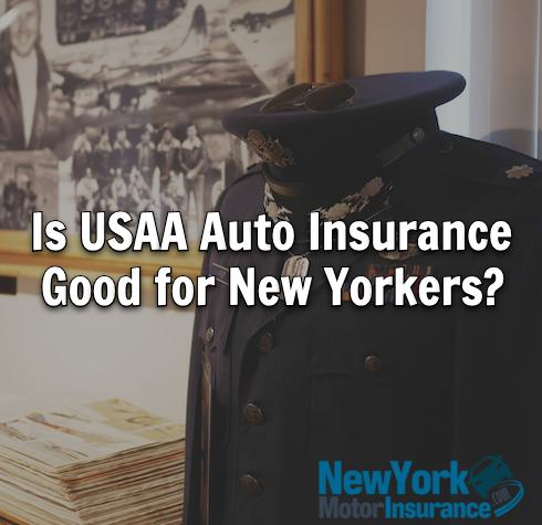 USAA auto insurance NY