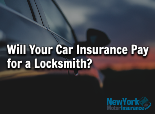 Will Your Car Insurance Pay for a Locksmith